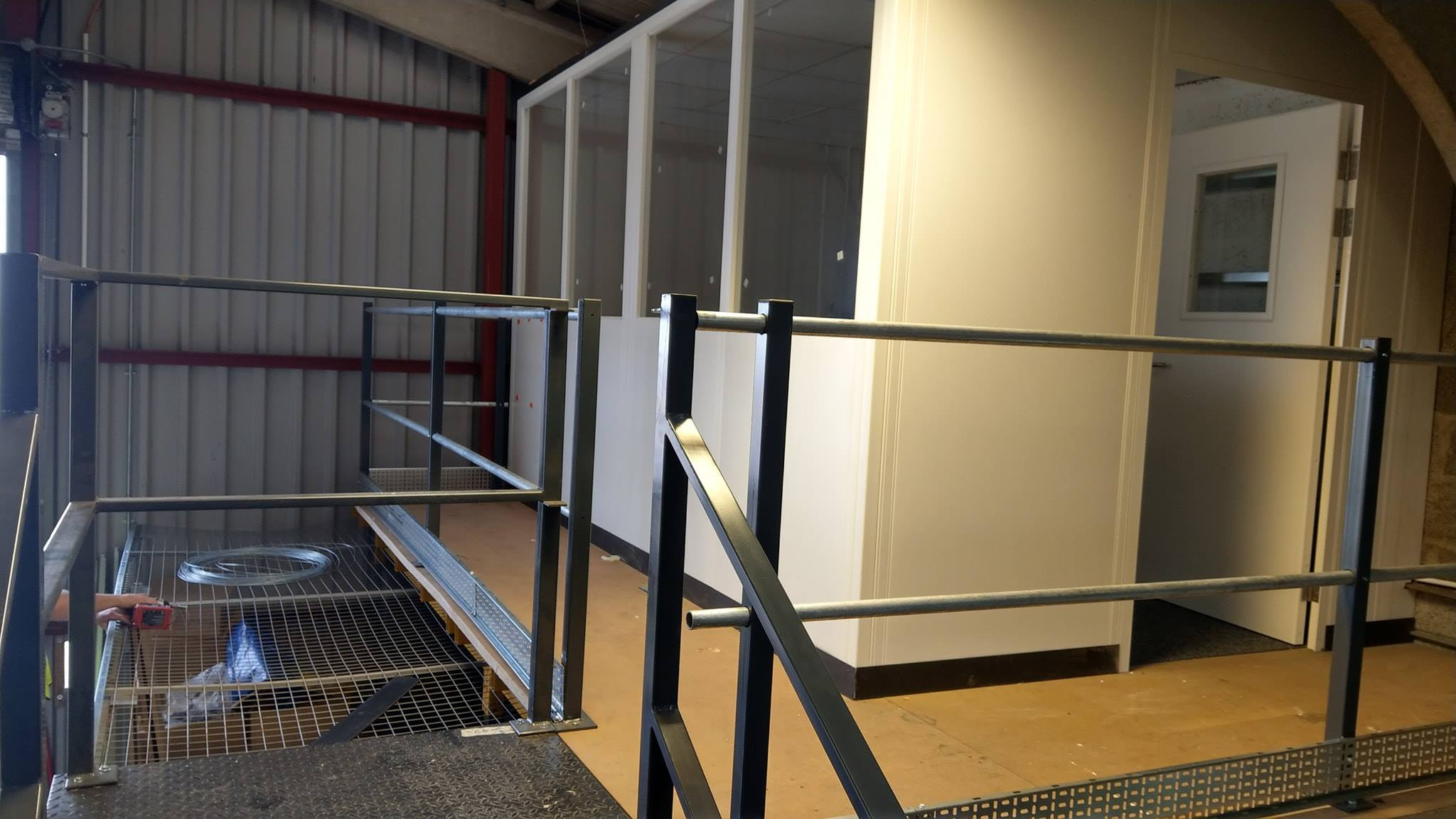 If you need a back office we have a modular solution. Designed and installed by BTS Storage Centre